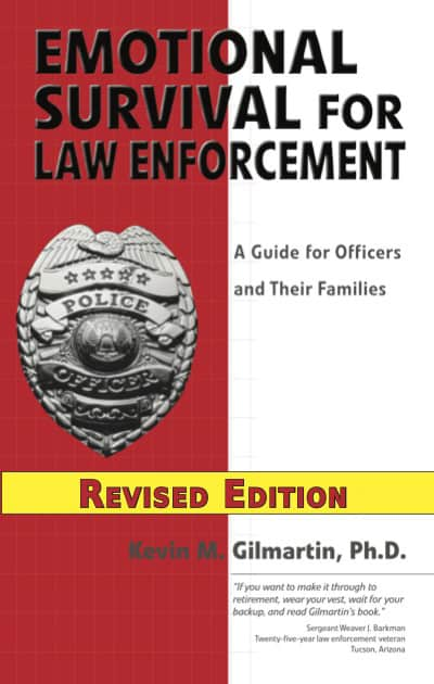 emotional survival for law enforcement officers book cover